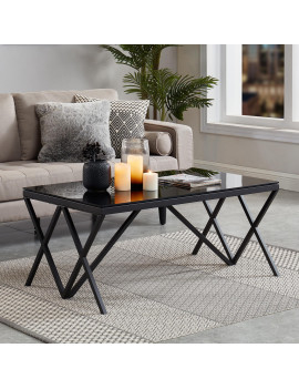 Calix - Coffee Table in Black