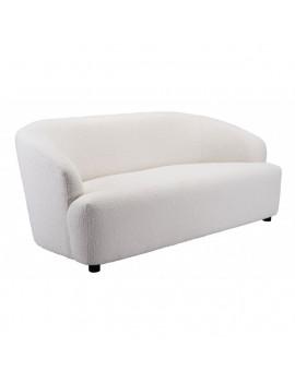 Budapest - Sofa in White/Gray