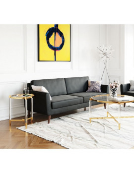 Mirabelle - Sofa in Charcoal