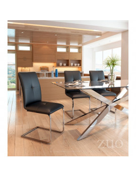 Anjou - Dining Chair in Black
