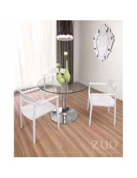 Galaxy - Dining Table Chrome