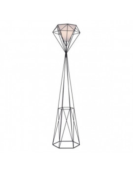 Delancey - Floor Lamp in Black