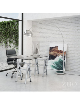 Galactic Floor Lamp in Chrome