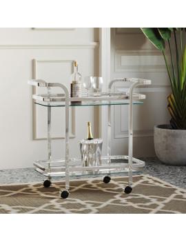 Zedd 2-Tier Bar Cart