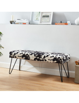 Angus - Bench in Black