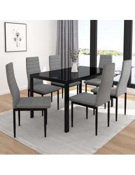 Contra - Black Table + Grey...